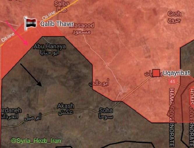 Quân đội Syria đánh chiếm chốt IS, phiến quân bắn cháy xe tăng Syria (video ảnh 1