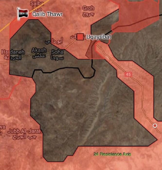 Quân đội Syria đánh chiếm chốt IS, phiến quân bắn cháy xe tăng Syria (video ảnh 2