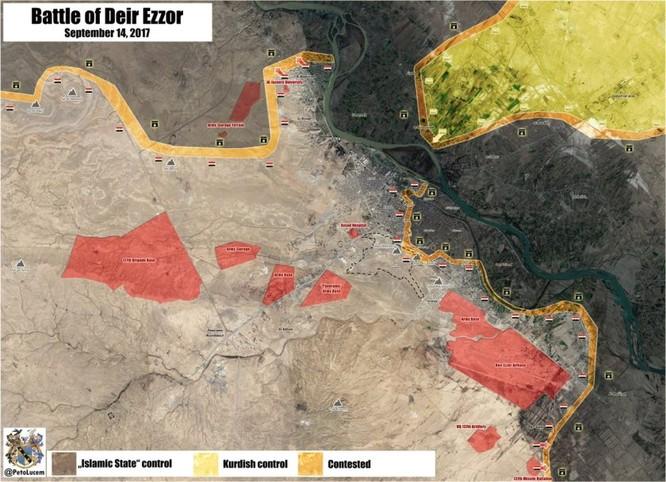 Syria: Đua chiếm Deir Ezzor, người Kurd châm ngòi cuộc chiến với Assad (video) ảnh 1