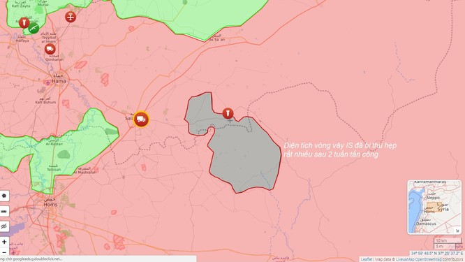 Quân đội Syria đè bẹp IS, đoạt loạt cứ địa phiến quân phía đông Hama (video) ảnh 1
