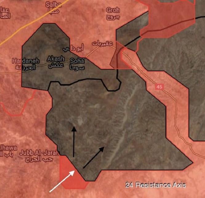 Quân đội Syria thừa thắng đánh diệt IS trong vòng vây Homs, Hama ảnh 10