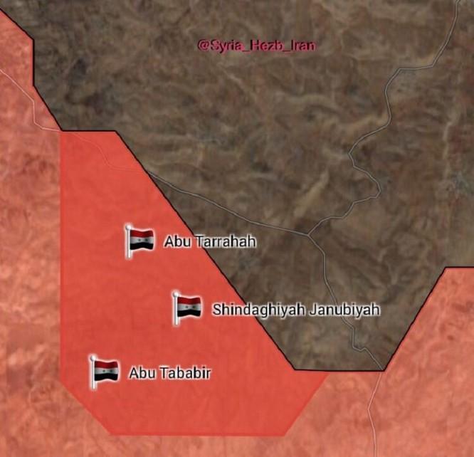 Quân đội Syria thừa thắng đánh diệt IS trong vòng vây Homs, Hama ảnh 9