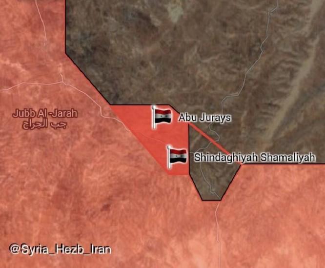 Quân đội Syria đè bẹp IS, đoạt thêm 6 cứ địa ở Homs-Hama (video) ảnh 1