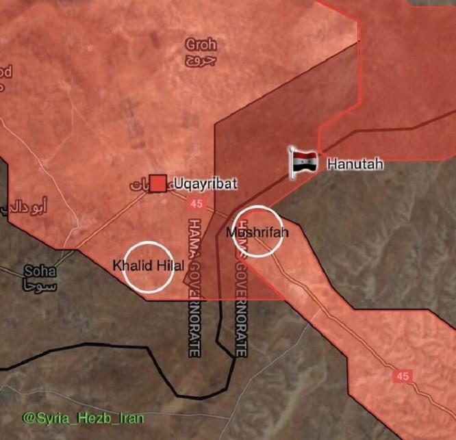 Quân đội Syria đè bẹp IS, đoạt thêm 6 cứ địa ở Homs-Hama (video) ảnh 2