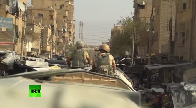 Quân đội Syria dồn dập truy diệt IS, Mỹ cáo buộc Nga đánh người Kurd ảnh 12