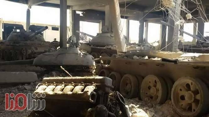 Quân đội Syria truy diệt IS, chiếm kho vũ khí lớn tại đông Hama (video) ảnh 2