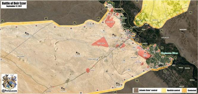 Quân đội Syria đập tan IS phản kích tại chảo lửa Deir Ezzor ảnh 1