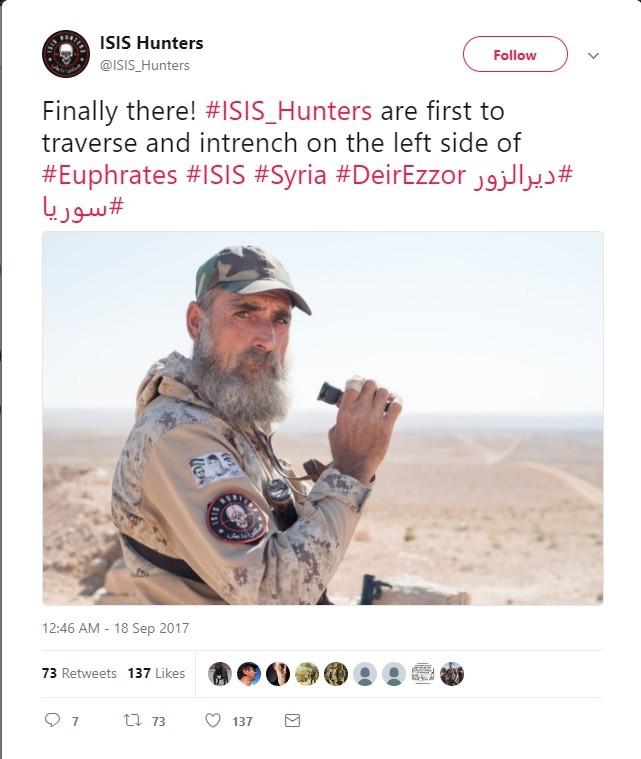 """Đặc nhiệm """"Săn IS"""" vượt Euphrates đánh IS, phủ đầu liên quân Mỹ-Kurd ảnh 1"""