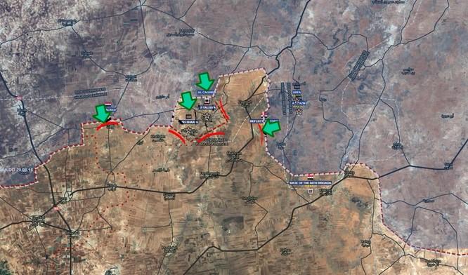 Liều cứu IS, phiến quân bị quân đội Syria vằm nát ảnh 1