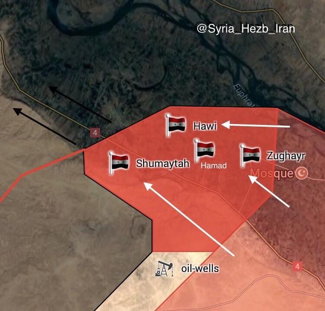 """'Hổ Syria"""" nghiền nát IS, ồ ạt đánh chiếm 4 cứ địa tại Deir Ezzor (video) ảnh 1"""