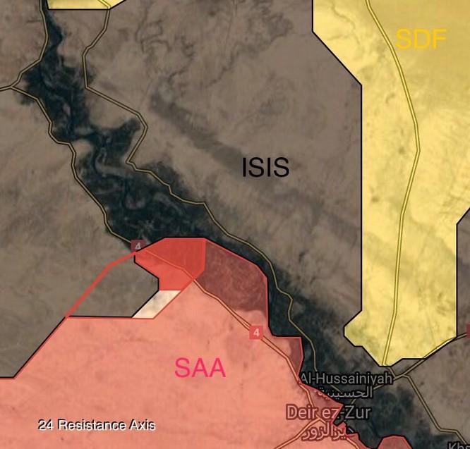 """'Hổ Syria"""" nghiền nát IS, ồ ạt đánh chiếm 4 cứ địa tại Deir Ezzor (video) ảnh 2"""