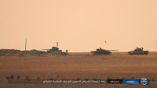 Quân đội Syria đập tan IS, chiếm liên tiếp 9 địa bàn trên sa mạc Homs ảnh 2
