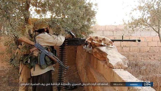 Quân đội Syria đập tan IS, chiếm liên tiếp 9 địa bàn trên sa mạc Homs ảnh 3