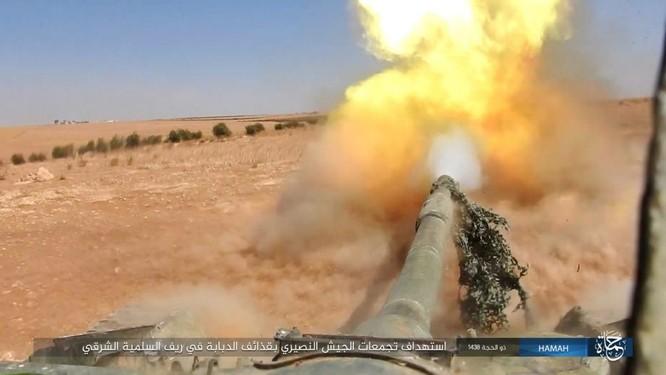 Quân đội Syria đập tan IS, chiếm liên tiếp 9 địa bàn trên sa mạc Homs ảnh 9