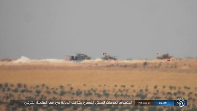 Quân đội Syria đập tan IS, chiếm liên tiếp 9 địa bàn trên sa mạc Homs ảnh 10