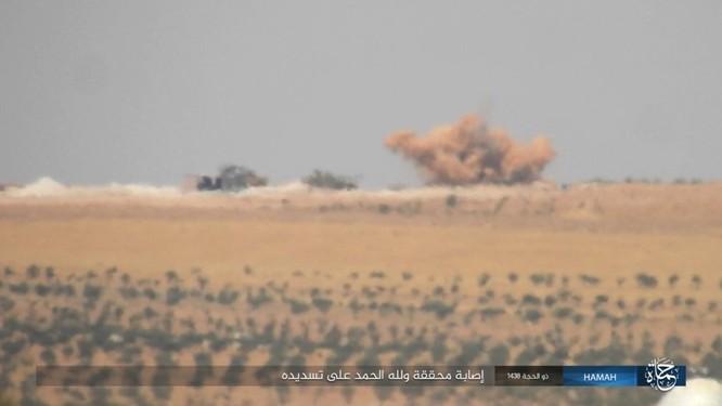 Quân đội Syria đập tan IS, chiếm liên tiếp 9 địa bàn trên sa mạc Homs ảnh 11
