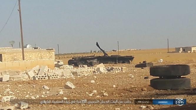 Quân đội Syria đập tan IS, chiếm liên tiếp 9 địa bàn trên sa mạc Homs ảnh 14