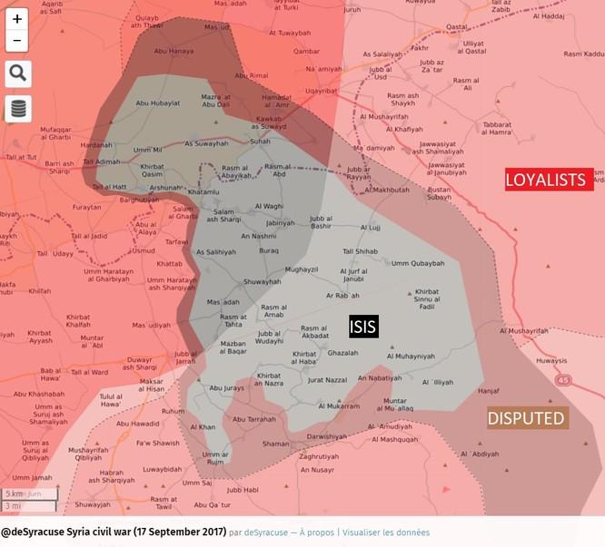 Không quân Nga dội lửa, quân Syria kịch chiến IS trong vòng vây Hama ảnh 2