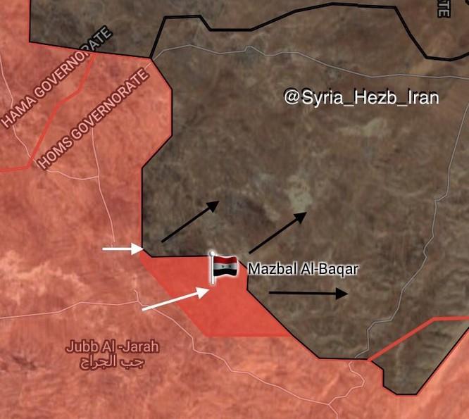 Không quân Nga dội lửa, quân Syria kịch chiến IS trong vòng vây Hama ảnh 1