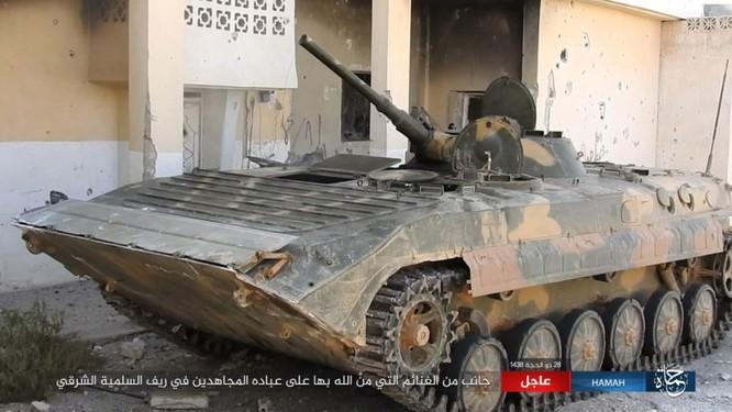 Không quân Nga dội lửa, quân Syria kịch chiến IS trong vòng vây Hama ảnh 3