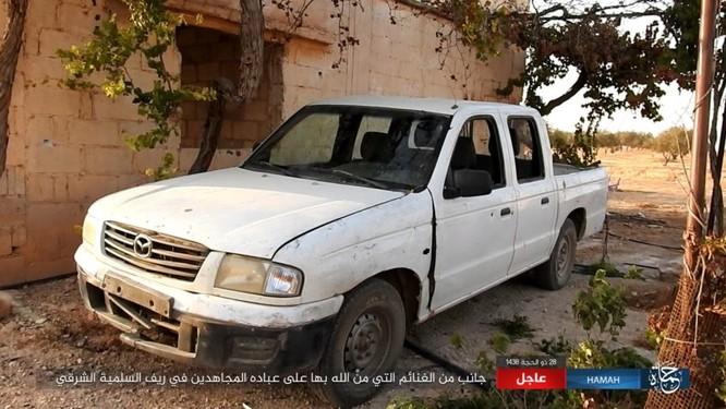 Không quân Nga dội lửa, quân Syria kịch chiến IS trong vòng vây Hama ảnh 5