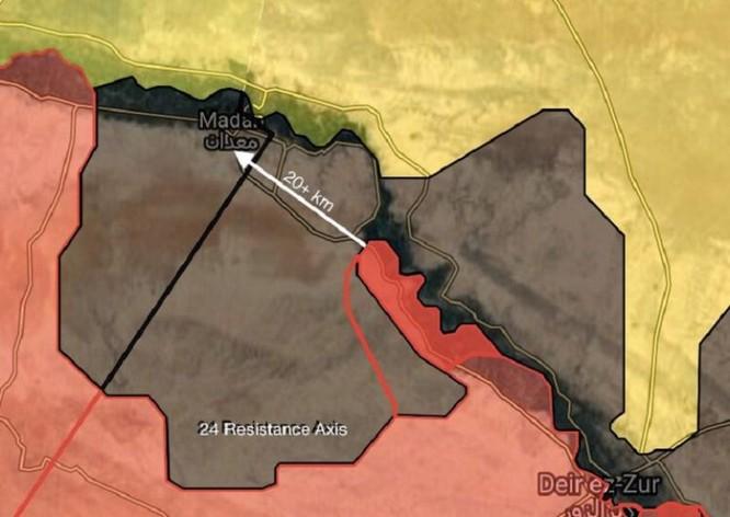 """""""Hổ Syria"""" tốc chiến chiếm 4 cứ địa tây Euphrates, IS sụp đổ dây chuyền ảnh 1"""