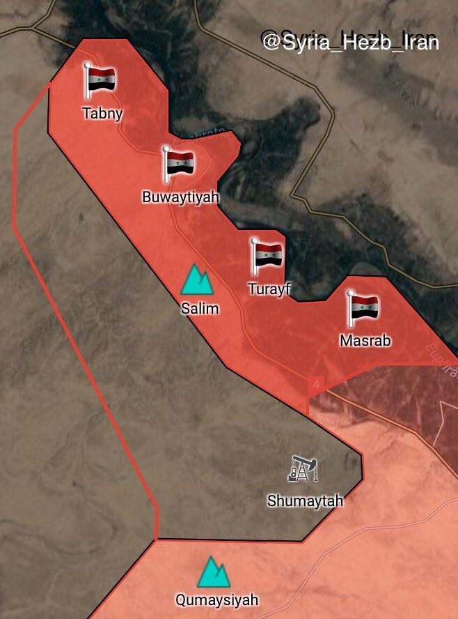 """""""Hổ Syria"""" tốc chiến chiếm 4 cứ địa tây Euphrates, IS sụp đổ dây chuyền ảnh 2"""