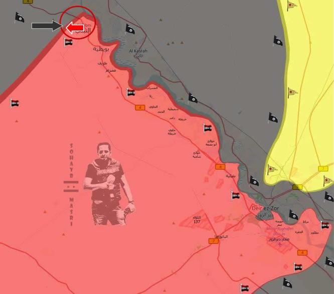 """""""Hổ Syria"""" nghiền nát phiến quân IS phản kích lớn tại tây Deir Ezzor (video) ảnh 1"""