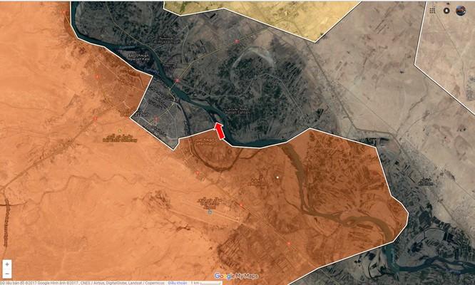 Quân Syria vượt sông Euphrates, đánh chiếm đảo IS ở Deir Ezzor ảnh 1