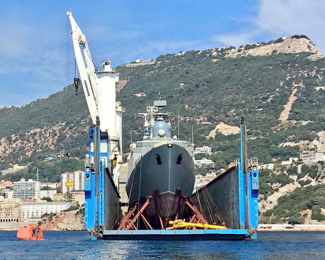 Ảnh chiến hạm Gepard mới đang trên đường về Việt Nam ảnh 3
