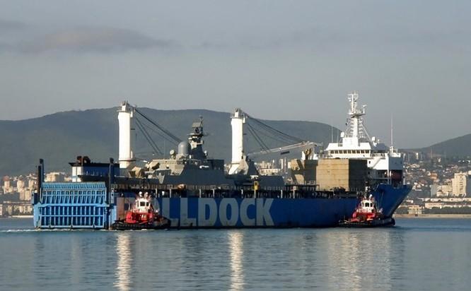 Ảnh chiến hạm Gepard mới đang trên đường về Việt Nam ảnh 4