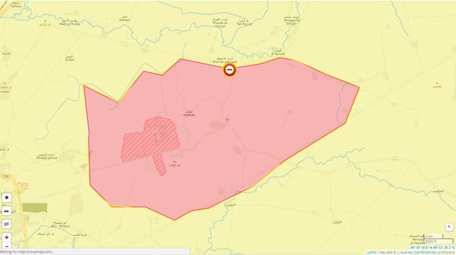 Quân đội Syria chặn đoàn xe quân sự Mỹ, nguy cơ bùng phát cuộc chiến mới ảnh 1