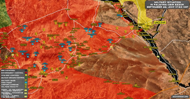 """IS """"buông"""" mặc Mỹ-Kurd chiếm mỏ dầu, SDF công khai đối đầu quân đội Syria ảnh 1"""