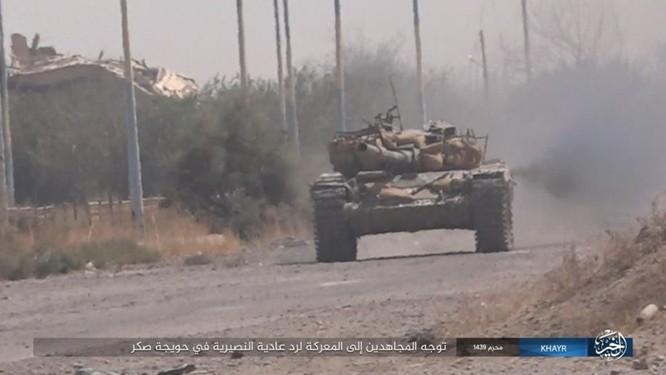 Quân Syria và IS tử chiến đẫm máu trên đảo lửa tại Deir Ezzor (video) ảnh 1