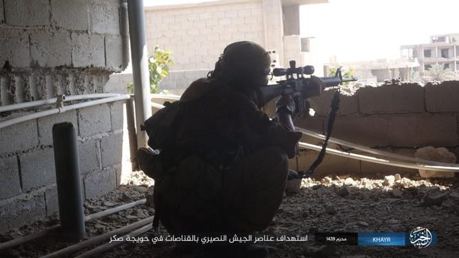 Quân Syria và IS tử chiến đẫm máu trên đảo lửa tại Deir Ezzor (video) ảnh 3