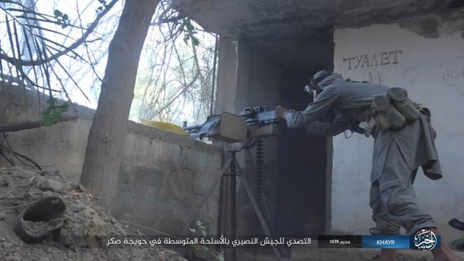 Quân Syria và IS tử chiến đẫm máu trên đảo lửa tại Deir Ezzor (video) ảnh 4