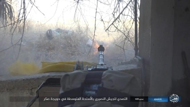 Quân Syria và IS tử chiến đẫm máu trên đảo lửa tại Deir Ezzor (video) ảnh 5