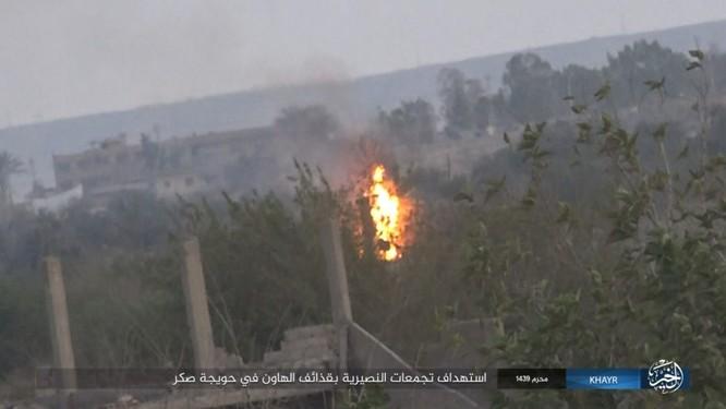 Quân Syria và IS tử chiến đẫm máu trên đảo lửa tại Deir Ezzor (video) ảnh 8
