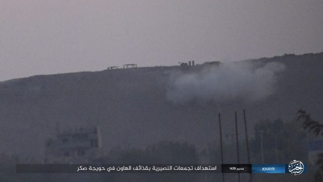 Quân Syria và IS tử chiến đẫm máu trên đảo lửa tại Deir Ezzor (video) ảnh 9