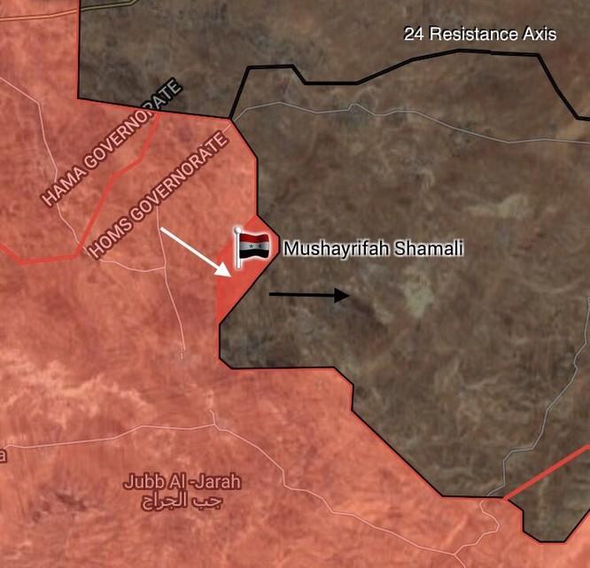 IS điên cuồng tử thủ, quân Syria giáng đòn tiêu diệt ở Homs, Hama ảnh 1