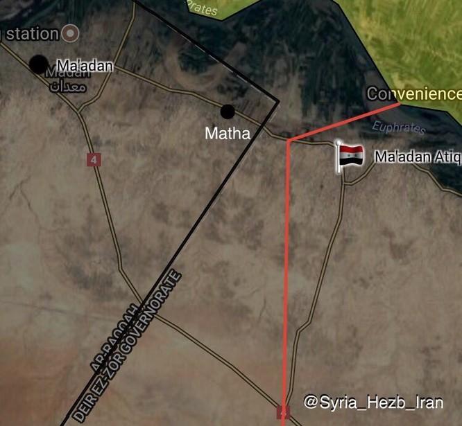 """""""Hổ Syria"""" đánh chiếm thị trấn IS, quân đội Syria xốc tới bờ đông Euphrates ảnh 1"""