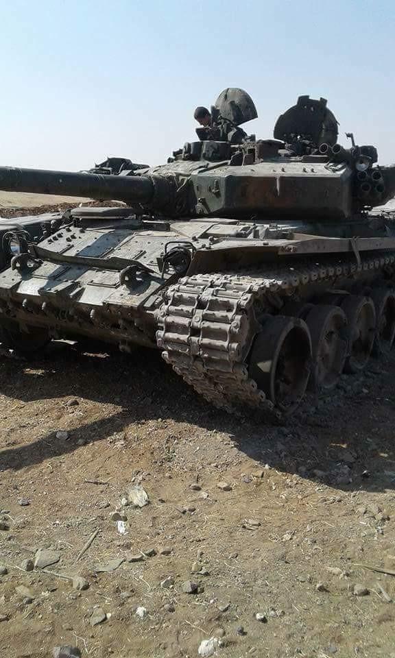 Quân Syria giáng đòn hủy diệt tăng thiết giáp phiến quân tại Hama (video) ảnh 2