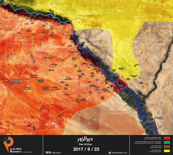 """""""Hổ Syria"""" tốc chiến đánh gục IS, quét sạch toàn bộ sa mạc Deir Ezzor - Raqqa (video) ảnh 3"""
