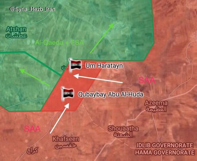 """Nga truy diệt 80 chiến binh khủng bố, """"Hổ Syria"""" tung quân về Hama ảnh 1"""