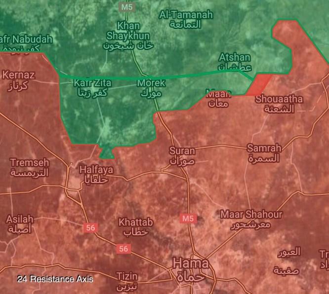 """Nga truy diệt 80 chiến binh khủng bố, """"Hổ Syria"""" tung quân về Hama ảnh 2"""