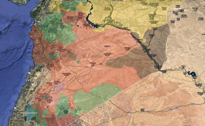 Quân Syria ồ ạt tấn công, đoạt cứ địa chiến lược IS ở Hama (video) ảnh 1