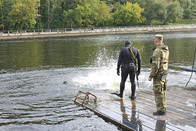"""Cận cảnh đặc công Nga """"chống khủng bố"""" (chùm ảnh) ảnh 3"""
