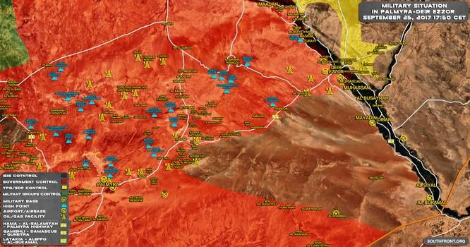 Tử địa Deir Ezzor, Mỹ đẩy người Kurd đối đầu Nga-Syria ảnh 2