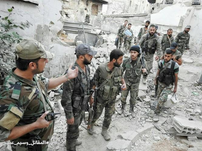 Hỏa lực Syria tấn công dữ dội phiến quân thánh chiến ven Damascus (video - ảnh) ảnh 5