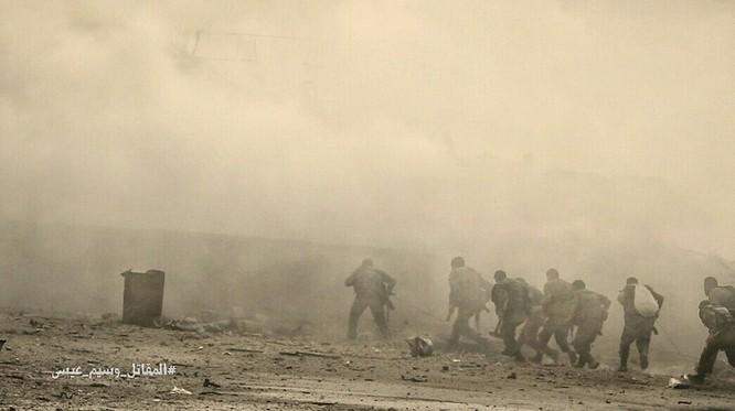 Hỏa lực Syria tấn công dữ dội phiến quân thánh chiến ven Damascus (video - ảnh) ảnh 6